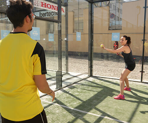 Padel training