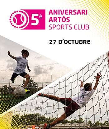 Aniversari Futbol Artós